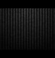 dark carbon fiber background vector image