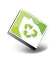 eco house icon vector image