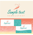 Logos and identification Aesthetics relaxation spa vector image vector image