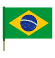 National flag of brazil icon isolated