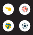 set of sport icons flat style symbols with vector image vector image