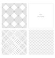 set-pattern-gray-two vector image vector image