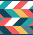 abstract colorful parallelogram seamless pattern vector image