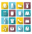 Businesswoman Clothes Set vector image vector image