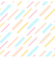 dashed abstract background seamless pattern pastel vector image vector image