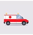 Insurance and Ambulance vector image vector image