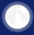 moonlight on sky vector image
