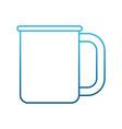 porcelain cup mug vector image