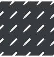 Straight black ink pen pattern vector image vector image