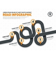 Street road business marketing vector image vector image