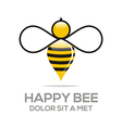 beehive sweet natural and honeycomb design vector image