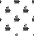 cap tea seamless pattern vector image