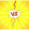 concept of confrontation together standoff vector image vector image