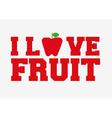 delicious fruits design vector image