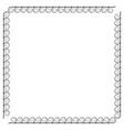 frame black 2 1910 vector image vector image