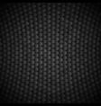 geometric polygons texture black metallic vector image vector image
