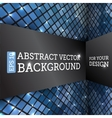 Perspective Rhombus Abstract Background vector image