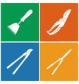 Set of Colored Agricultural Icons vector image