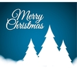 pine tree winter and christmas design vector image