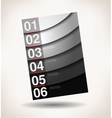 abstract background number vector image