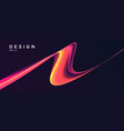 abstract background with dynamic gradient fluid vector image vector image