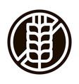 allergen free sign wheat icon