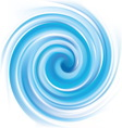 blue swirling texture vector image vector image