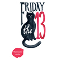 friday 13 vector image