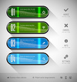 Glossy Banners vector image vector image