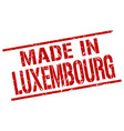 made in luxembourg stamp vector image vector image