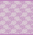 purple pink swirls spirals repeat pattern vector image vector image