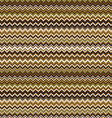 Seamless chevron pattern in brown and beige vector image vector image