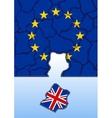 The EU has lost Britain vector image vector image