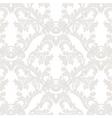 Vintage Baroque floral Damask pattern vector image vector image