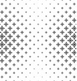 Abstract black and white thorn pattern background vector image