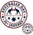 Australia day poster vector image