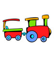 children train icon icon cartoon vector image vector image
