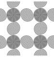 design seamless spiral pattern vector image vector image
