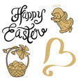 happy easter sunday vector image vector image