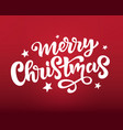 merry christmas web banner poster greeting card vector image vector image