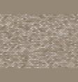 old brick wall background bricks texture seamless vector image vector image