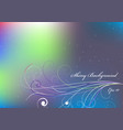 shiny background with violet and blue color vector image vector image