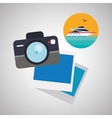 Travel design Trip icon Flat vector image vector image