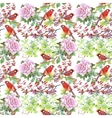 Watercolor hand drawn seamless pattern with