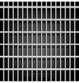 Prison grid on black vector image