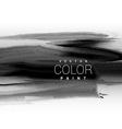 black dark ink paint background design vector image
