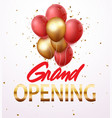 grand opening ceremony vector image vector image