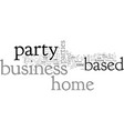 home based party business