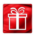 merry christmas icon new year sign vector image vector image