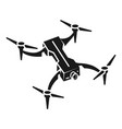portable drone icon simple style vector image vector image